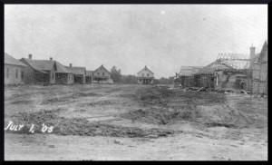 Early housing construction 1